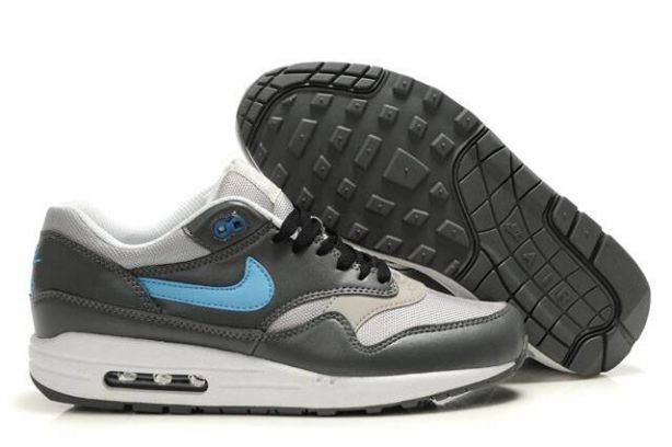 Nike Air Max 1 Mens Trainers Cool Grey Photo Blue White